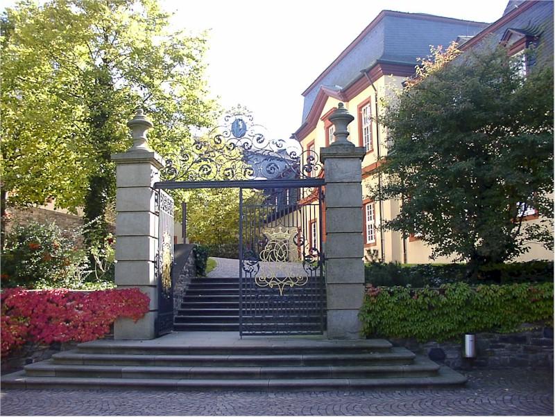 Grafschaft sayn Burg hachenburg