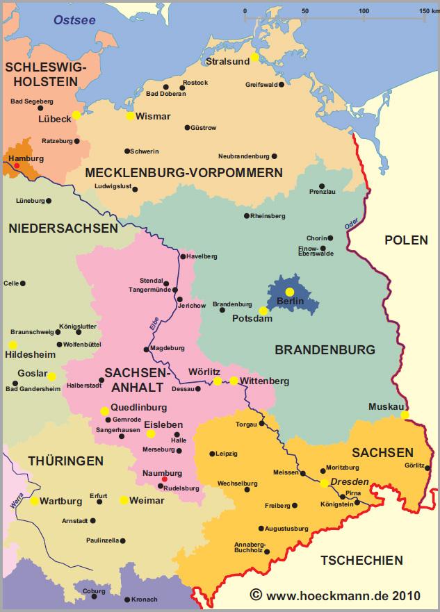 Sehenswurdigkeiten Im Osten Deutschlands
