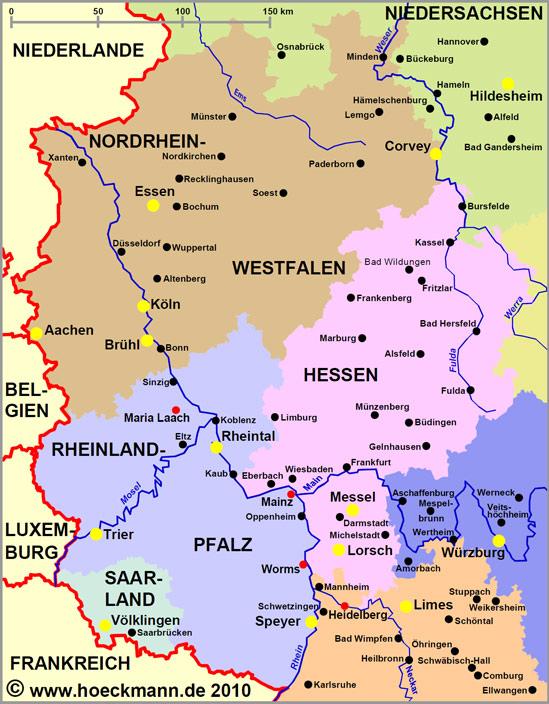 Sehenswurdigkeiten In Westdeutschland